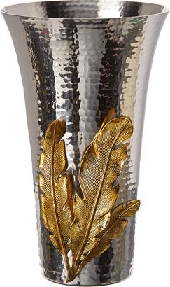 Michael Aram Gold Feather Vase