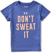 Under Armour Little Girls 2T-6X Don t Sweat It Short-Sleeve Graphic Tee
