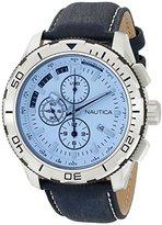 Nautica Men's NAD19519G NST 101 Analog Display Japanese Quartz Blue Watch