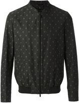 Fendi embroidered bomber jacket - men - Cotton - 48