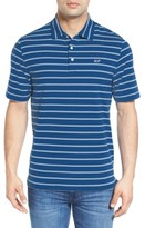 Vineyard Vines Men's Stripe Jersey Golf Polo