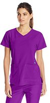 Carhartt Women's Cross-Flex Women's Yneck Scrub Top
