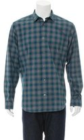 Vince Woven Button-Up Shirt w/ Tags