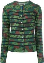 Muveil camouflage cardigan - women - Wool - 38