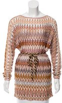 Missoni Patterned Long Sleeve Tunic