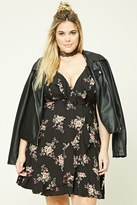 Forever 21 FOREVER 21+ Plus Size Floral Cami Dress