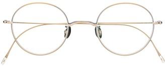Eyevan 7285 Clip round glasses