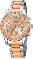 Akribos XXIV Women's Stainless Steel Watch