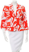 Alice + Olivia Long Sleeve Printed Blazer w/ Tags