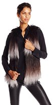 Tart Collections Women's Jamie Ombre Fur Vest