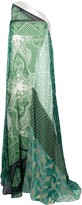Etro patchwork maxi dress