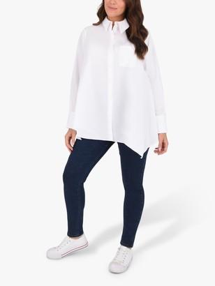 Live Unlimited Curve Poplin Shirt, White