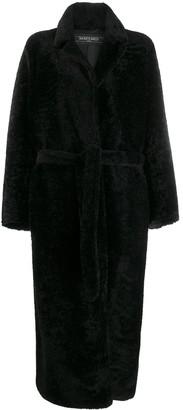 Simonetta Ravizza shearling long coat