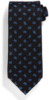 Stefano Ricci Neat Paisley-Print Silk Tie