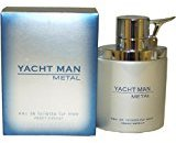 Puig Yacht Man Metal by Eau-de-toilette Spray for Men, 3.40-Ounce