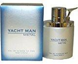 Puig Yacht Man Metal by Eau-de-toilette Spray for Men, 3.40-Ounce