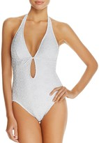 Kate Spade Plunge One Piece Swimsuit