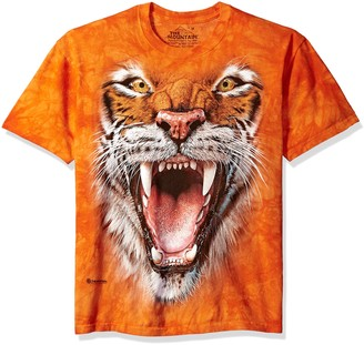 The Mountain Roaring Tiger Face Adult T-Shirt