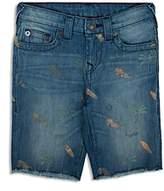 True Religion Boys' Surf Print Geno Shorts - Little Kid