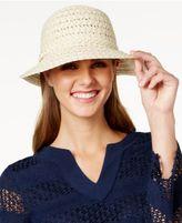 Nine West Packable Metallic Cloche Hat