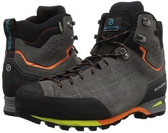 Scarpa Zodiac Plus GTX (Shark/Orange) Men's Shoes