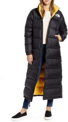 The North Face Nuptse Long Water-Resistant Down Coat