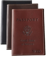Abas Belting Passport Cover, Personalized