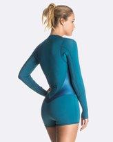 Roxy Womens Pop Surf 2mm Satin Long Sleeve GBS Front Zip Springsuit Wetsuit