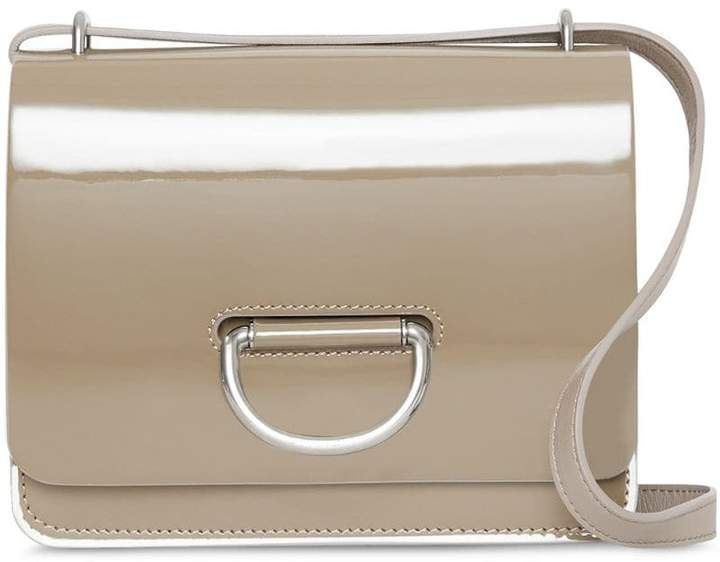 Burberry The Small Patent Leather D-ring Bag