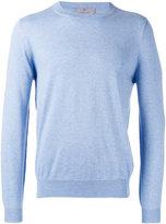 Canali plain sweatshirt - men - Silk/Cotton - 48