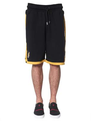 Marcelo Burlon County of Milan lakers shorts