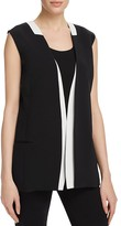 Magaschoni Color-Block Vest
