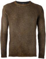 Avant Toi faded pullover - men - Cashmere/Merino - L