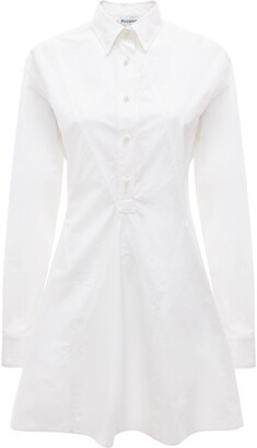 J.W.Anderson Godet-Hem Shirt-Dress
