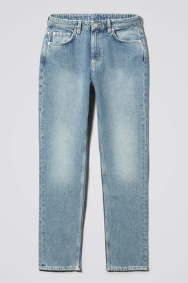 Weekday Seattle High Tapered Jeans - Blue