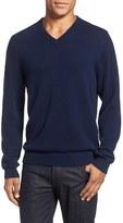 Nordstrom Men's Big & Tall Cashmere V-Neck Sweater