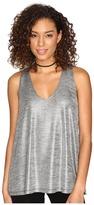 BB Dakota Denzel Foiled Jersey Sleeveless Top