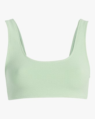 Mikoh Keala Textured Scoop Bikini Top