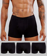 New Look New Look Trunks In Black 3 Pack
