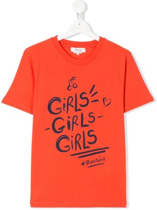 Bonpoint Girls print T-shirt