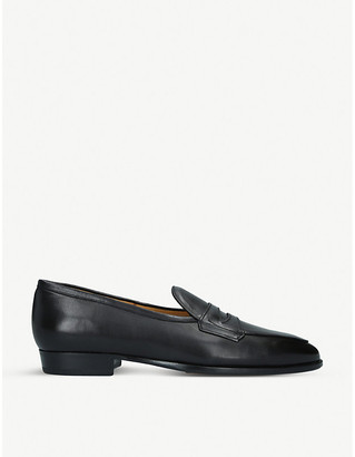 BAUDOIN & LANGE Sagan Grand leather penny loafers