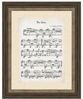 PTM Images Fur Elise Wall Art