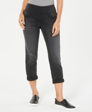 Style&Co. Style & Co Petite Pull-On Cuffed Skinny Jeans, Created for Macy's
