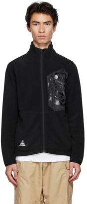 Billionaire Boys Club Black Fleece Zip-Up Jacket