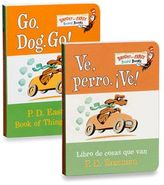 Dr. Seuss Dr. Seuss' Go, Dog, Go! Board Book (English and Spanish Versions)