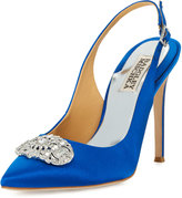 Badgley Mischka Sansa Crystal Slingback Pump, Royal
