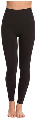 Spanx Look At Me Now Seamless Leggings (Black) Women's Clothing