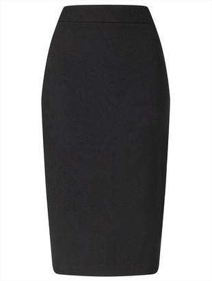 Ariella London Isa Crepe Pencil Skirt With Zip
