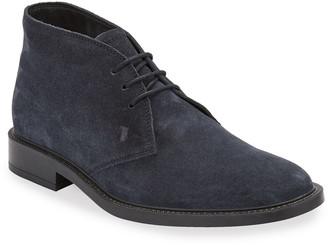 Tod's Men's Polacco Suede Chukka Boots