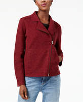 Eileen Fisher Wool Moto Jacket